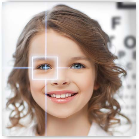 Examen de Los Ojos Pediatrica