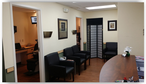 Henderson Eye Care Center - Waiting Room